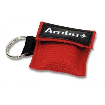 Maska ratownicza CPR Ambu LifeKey w breloczku (kolor czerwony)