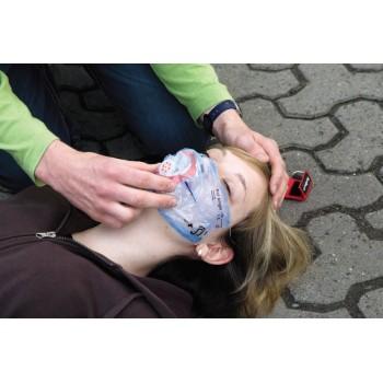 Maska ratownicza CPR Ambu LifeKey w breloczku (kolor niebieski)